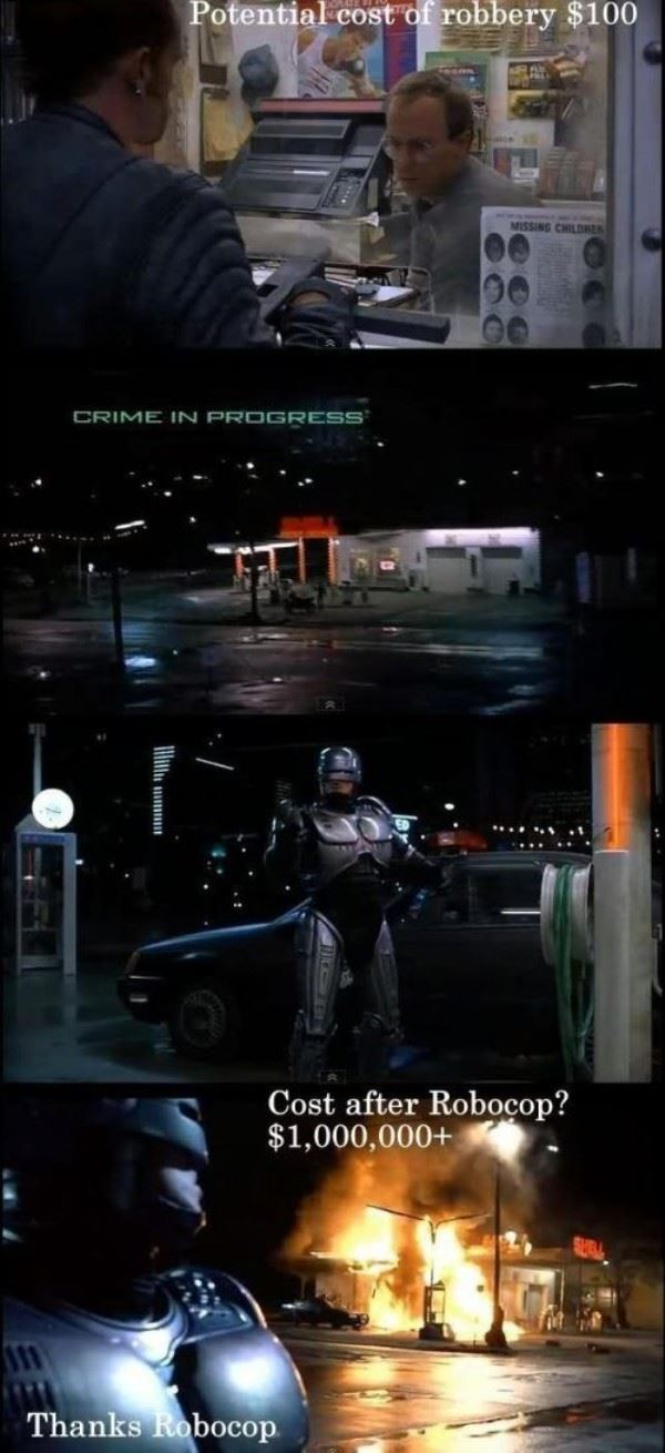 Thanks Robocop