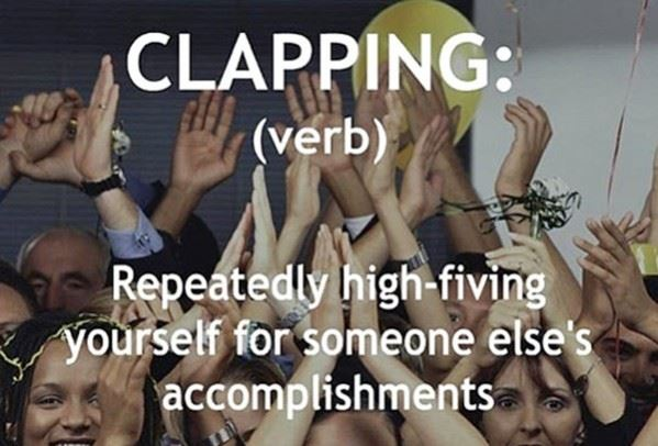 The Definition of Clapping