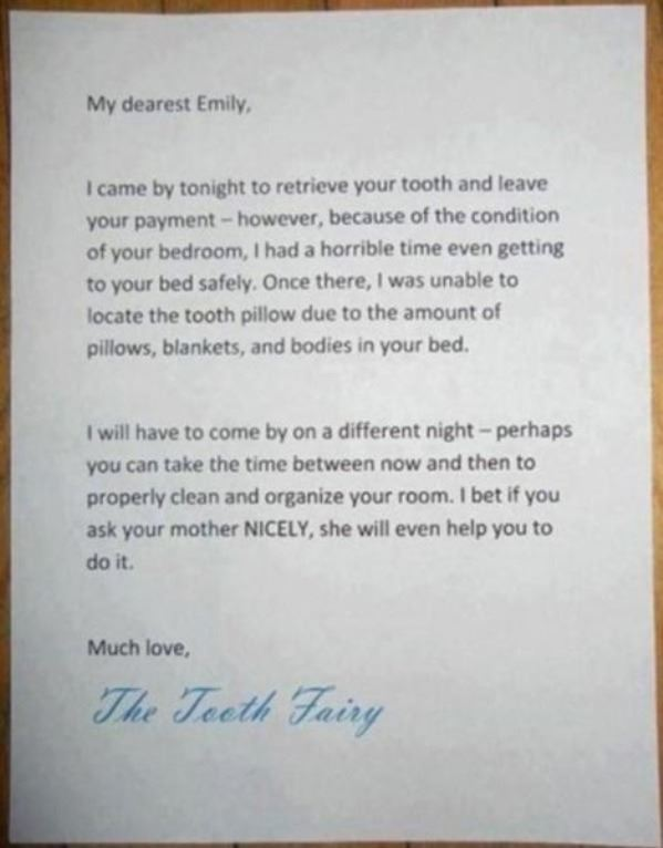 Clever Tooth Fairy