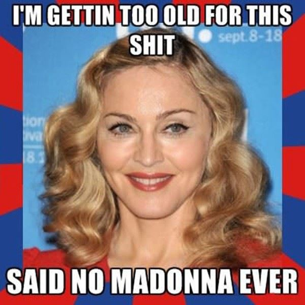 Madonna Getting Old