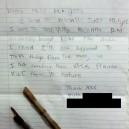 Park Ranger Letters