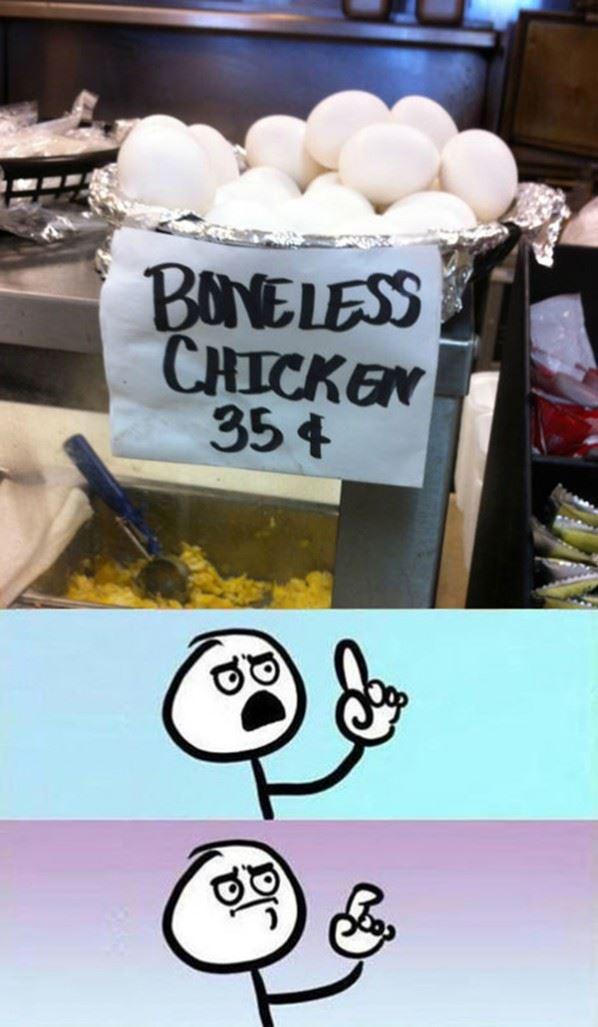 Boneless Chicken