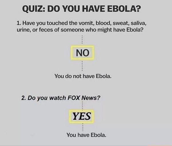 Do you have Ebola