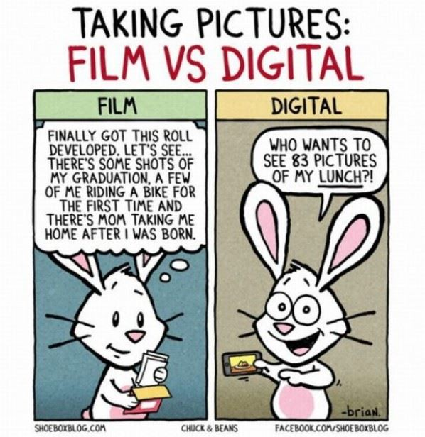 Film vs. Digital