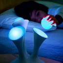 Glowing nightlight bulb