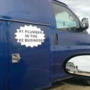 Plumber slogan