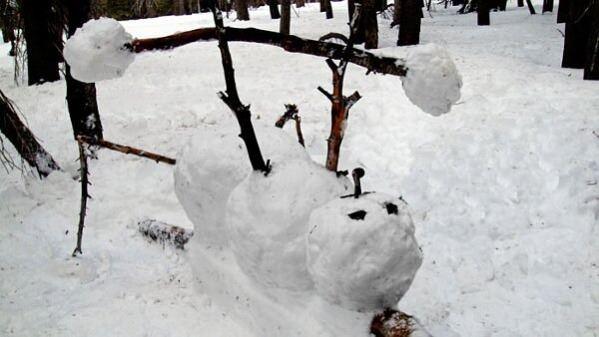 Buff Snowman