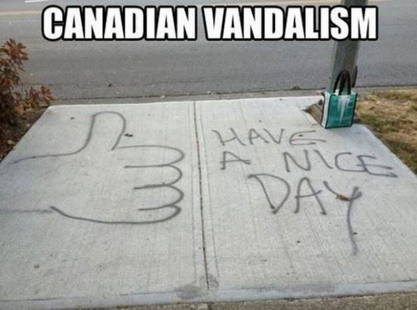 Canadians are Polite