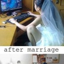 Girl gamer gets married