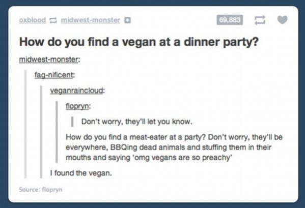 How do you find a vegan