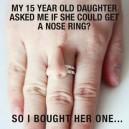 Nice nose ring