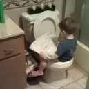 Potty training like a boss