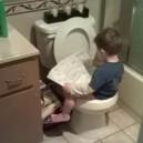 Potty training like a boss