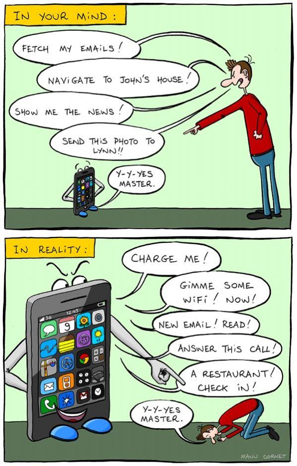 Rreality of phones