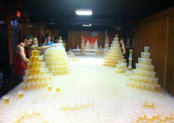 Serious beer pong