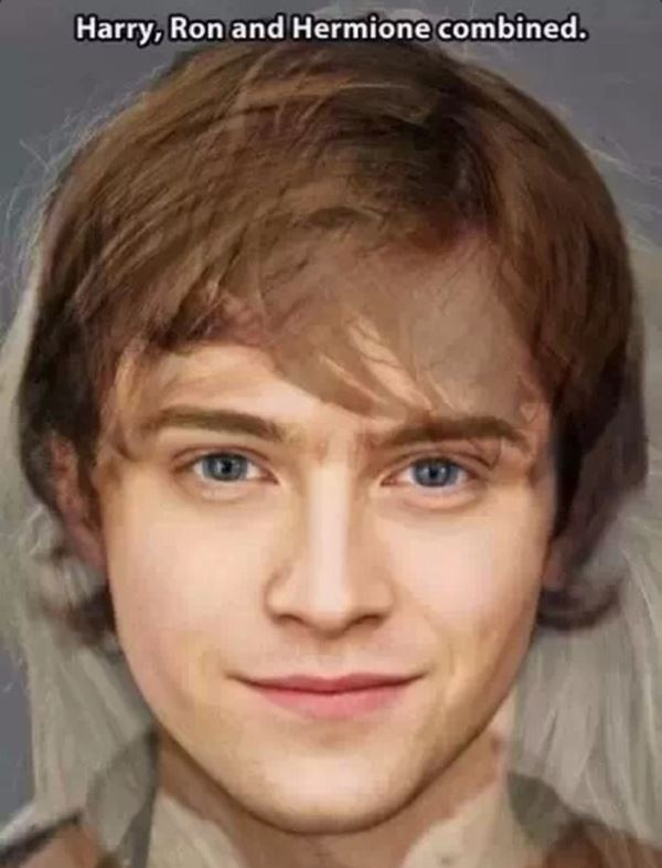 Harry, Ron, and Hermione combined