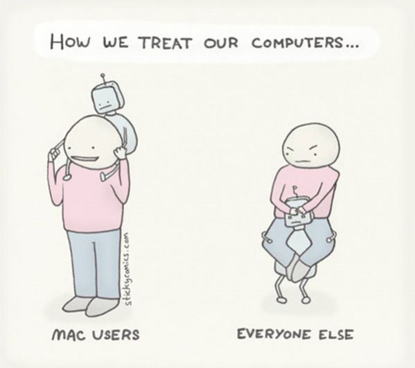 How we treat our computers