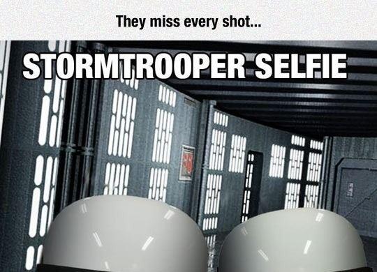 Stormtrooper Selfie