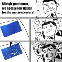 Bus seat designers be like