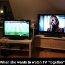 How to watch TV together