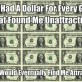 If I had a dollar…