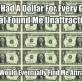If I had a dollar…