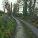 In Ireland the speed limit is a challenge!