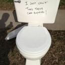 It's seen some poop!