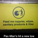 Pac Man's new job