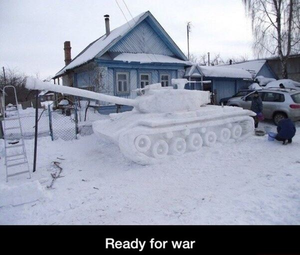Ready for war