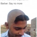 The fancy hair cut