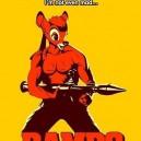 Bamboo as Rambo equals Bambo!