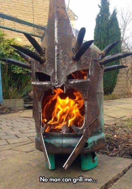 Hardcore grilling