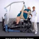 How to pick up American Women