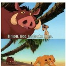 Lion King did it first