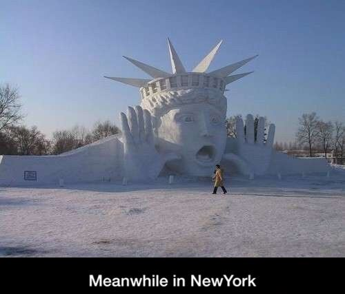 Meanwhile in New York
