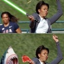 Michelle Obama and the magic of photoshop