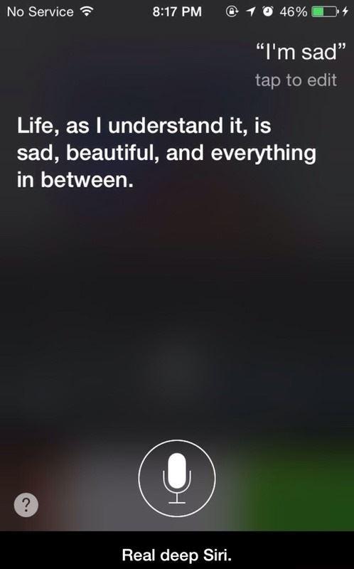 Real deep Siri