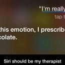 Siri should be my therapist