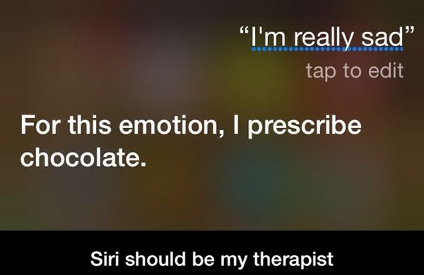 Siri should be my therapist