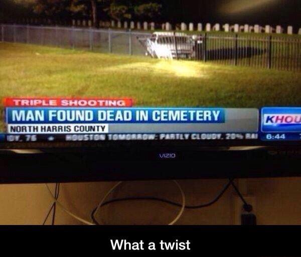 What a twist