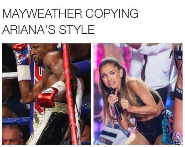 Mayweather's fighting style