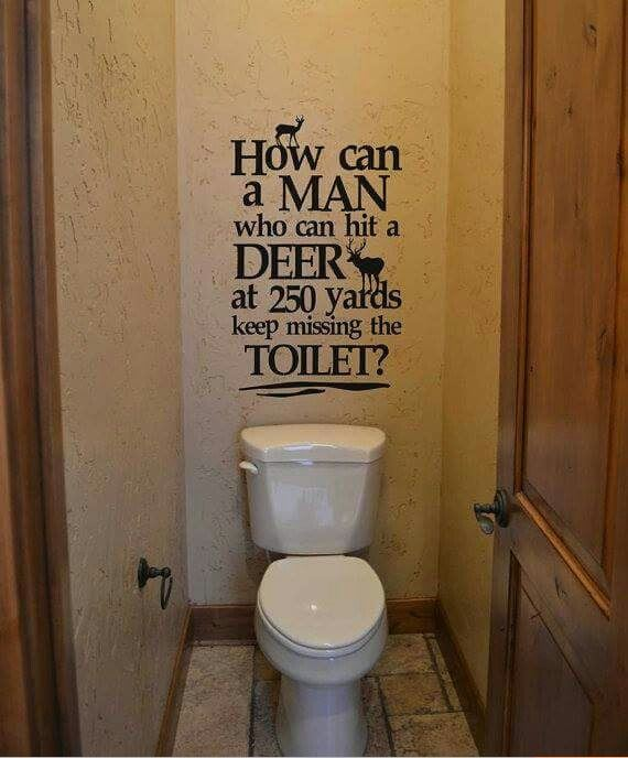 Men vs toilets