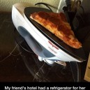 When you improvise a microwave you get this