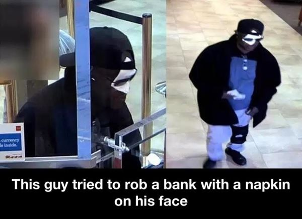 Clever robber