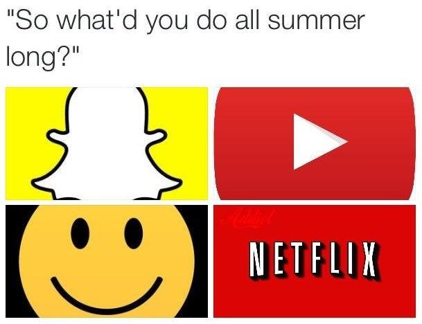 What did you do all summer