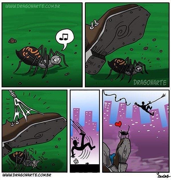I Love You Spider Man!