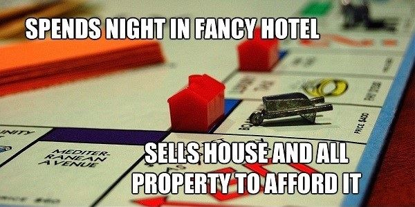If Monopoly Were Real Life