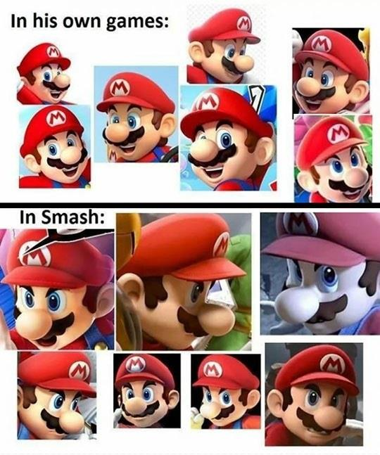 Mario Gets Real On Smash Brothers