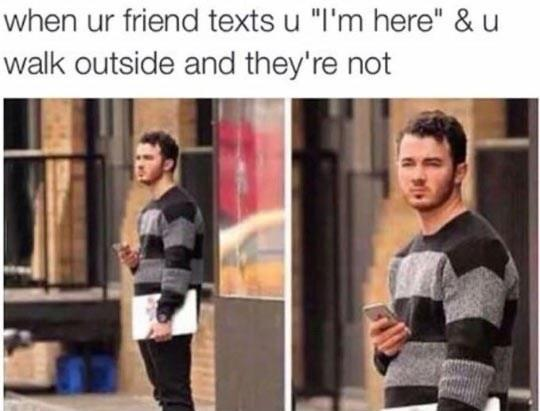My Friends Do This A Lot